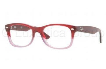 Ray-Ban RY1528 Progressive Prescription Eyeglasses 3583-4616 - Dark Steel Frame