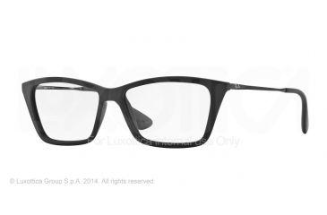 Ray-Ban SHIRLEY RX7022 Eyeglass Frames 5364-52 - Rubber Black Frame