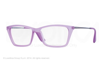 Ray-Ban SHIRLEY RX7022 Eyeglass Frames 5367-52 - Rubber Violet Frame