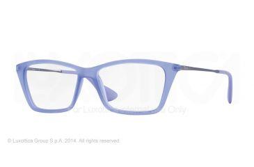 Ray-Ban SHIRLEY RX7022 Eyeglass Frames 5368-52 - Rubber Lilac Frame