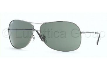e5e9fda166 Ray-Ban Sunglasses RB3267 004 71-6913 - Gunmetal Green