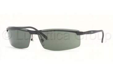 Ray-Ban Sunglasses RB3296 006/71-6710 - Matte Black Green