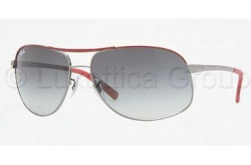 ec89f31dd27 Ray-Ban RB3387 Single Vision Prescription Sunglasses RB3387-078-8G-6415 -