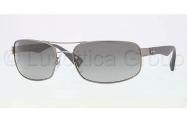 Ray-Ban Prescription Sunglasses RB3445  RB3445-029-71-6117 - Lens Diameter 61 mm, Frame Color Matte Gunmetal