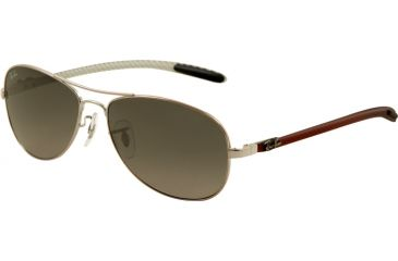 Ray-Ban Bifocal Sunglasses RB8301 with Lined Bi-Focal Rx Prescription Lenses RB8301-130-71-5614 - Lens Diameter 56 mm, Frame Color Shiny Gunmetal