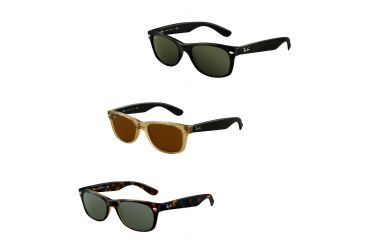 86495b6fe8a08 Ray-Ban New Wayfarer RB2132 Sunglasses - 65 Models