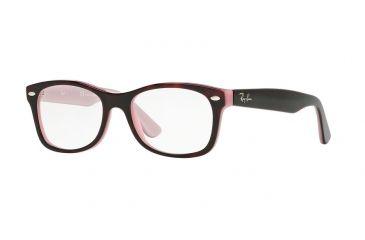 f97e8232f185 Ray-Ban Youth RY1528 Eyeglass Frames 3580-46 - Top Avana/opaline Pink