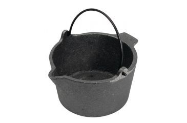 RCBS Cast Iron Lead Pot With Pour Spout 10 Pound Capacity 80010