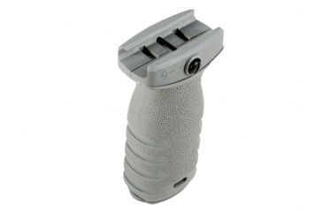 MFT React Short Vertical Grip - Gray - RSGGY