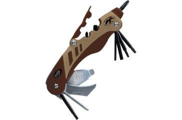 Real Avid The Gun Tool Shooters Multi-Tool, Brown, Duck Commander AVGTDC