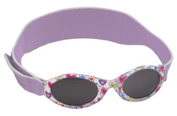 Real Kids My First Shades Sunglasses Purple Hearts Lavender Band 024PURPHRTS