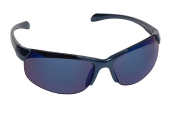 Real Kids Shades Blade Sunglasses - Blue Shiny Metallic Frame 7-12 Years, Blue, 7-12 Years 712BLADEBLUE