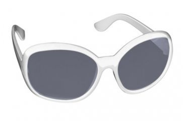 Real Kids Shades Fabulous Sunglasses - White Temple Frame 7-12 Years, White, 7-12 Years 712FABWHT