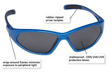 Real Kids Glide Shades for Kids 8 to 12 Years - Features