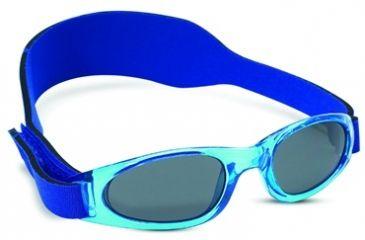 Real Kids Shades 2 - 5 Years My First Shades Boys Sunglasses - Royal Shades w/ Adjustable Band 25BROYAL