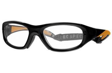 Rec Specs MX-20 BASEBALLProtective Eyewear Black Frame,Clear Lens, Unisex MX-20BBLCK4817125C