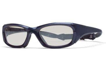 Rec Specs MX-30 Protective Eyewear Shiny Navy Blue Frame,Clear Lens, Unisex MX-30SHNB5317130C