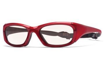 Rec Specs MX-30Protective Eyewear Crimson Frame,Clear Lens, Unisex MX-30CMBK5317130C