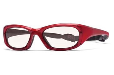 Rec Specs MX-30Protective Eyewear Crimson Frame,Clear Lens, Unisex MX-30CMBK5520130C