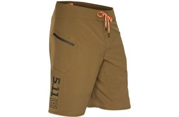 5.11 Tactical Recon Vandal Short, Battle Brown, Waist  28 43059-116-28