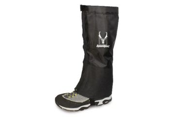 Red Canyon Water-Resistant Gaiters, Black, Small-Medium 601030
