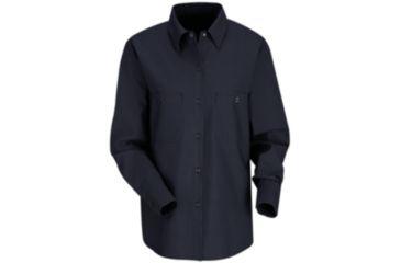 Red Kap Industrial Work Shirt, Women, Navy, RGL SP13NVRGL