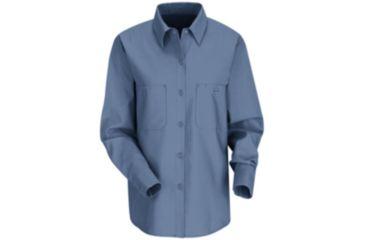Red Kap Industrial Work Shirt, Women, Petrol Blue, RGL SP13MBRGL