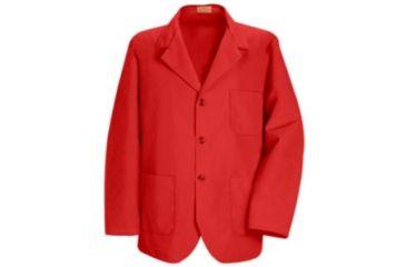 Red Kap Lapel Counter Coat, Men, KP10RD, RGL KP10RDRGL