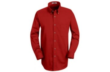 Red Kap Mens Meridian Performance Twill Shirt, Men, 1T12RD, LNL 1T12RDLNL