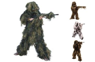 2-Red Rock Outdoor Gear 5 Piece Ghillie Suit
