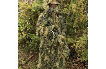 Red Rock Outdoor Gear 5 Piece Ghillie Suit, Woodland, Medium-Large 70915M/L