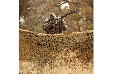 Red Rock Outdoor Gear Hunting Series Camouflage Netting, Desert, 6ftx8ft 068D