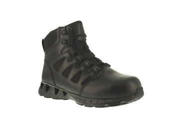 d3b450494d8730 Reebok Mens ZigKick Tactical 6in Tactical Boots w Side Zipper