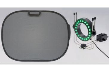 ReflecmediaChromaflex EL 4'x 3' w/ Green MicroLite Assembly RM-4512