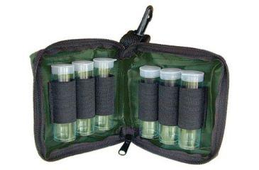 Remington Choke Tube Case Holds Six, Pocket w/ Zipper for Wrench, Heavy-Duty Cordura