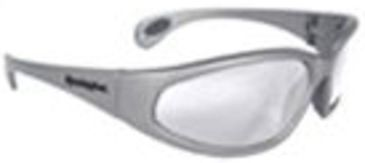Remington Shooting Glasses, Silver Frame, Clear Lens T70-10