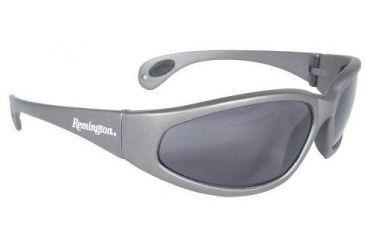 Remington Shooting Glasses, Silver Frame, Smoke Lens T70-20