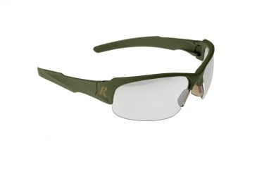Remington T-83 Soft touch green frame safety glasses - Green/Indoor-Outdoor, One Size T83-90