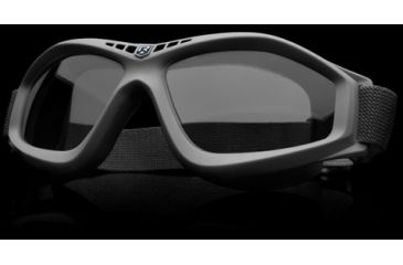 Revision Military Eye Wear Bullet Ant Ballistic Goggles Basic Kit - Solar Lens, Black Frame 4-0045-0121
