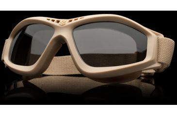 Revision Military Eyewear Bullet Ant Tactical Goggle Basic Kit - Solar Lens, Tan Frame 4-0045-0126