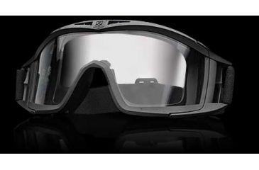Revision Desert Locust Basic Goggles - Green Frame, Clear Lens