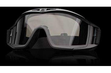 Revision Eyewear Desert Locust Basic Kit - Green Frame, Smoke Solar Lens
