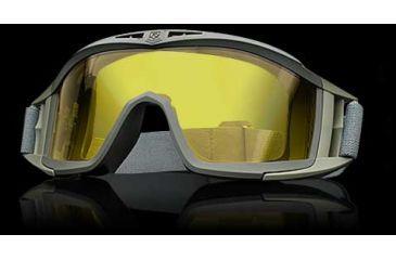 Revision Eyewear Desert Locust Goggle - Green Frame, High Contrast Yellow Lens