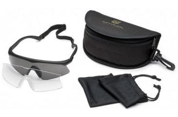 Revision Sawfly Ballistic Eyeshield Essential Kit - Large Black Frame 400760301