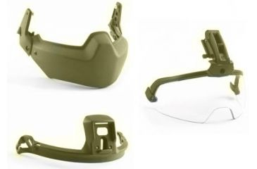 Revision Viper Modular Head Protection 3 Piece System, Tan 499, Small 4-0509-5020