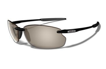 Revo Cut Bank Polished Black Nylon Frame, Graphite Lens Sunglasses - RE4045-01