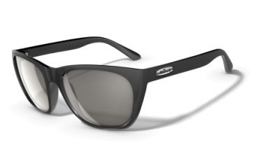 Revo Grand Sixties Matte Black Nylon Frame, Graphite Lens Sunglasses - RE4052-01
