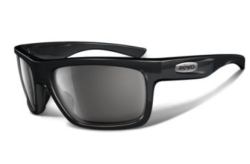 Revo Stern 4056 RX Single Vision Sunglasses - Black Ink Nylon Frame RE4056-06RX