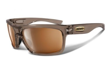 Revo Stern 4056 RX Single Vision Sunglasses - Crystal Brown Nylon Frame RE4056-07RX