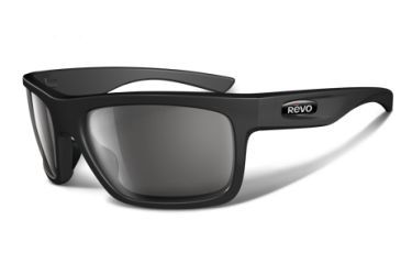 Revo Stern 4056 RX Single Vision Sunglasses - Matte Black Nylon Frame RE4056-02RX